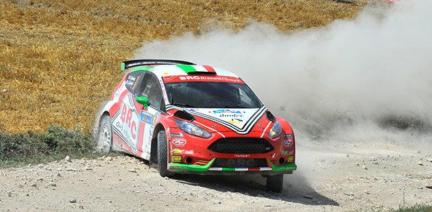 Dominio di Basso al Rally di San Marino