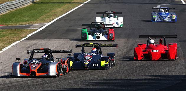 Lo start di gara 2 del Campionato Italiano Sport Prototipi a Magione