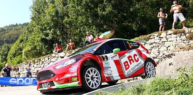 Dominio di Basso al Rally del Friuli