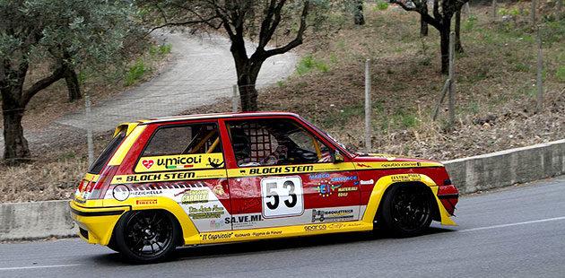 Tra le E1 1.6 Turbo la vittoria arride a Vito Micoli con la Renault 5 GT Turbo