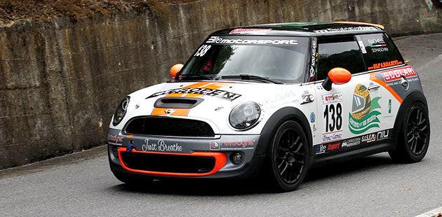 Rachele Somaschini con la Mini Cooper è quarta nelle Racing Start Plus