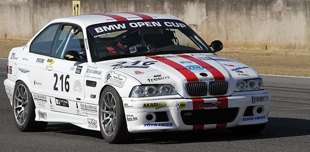 Ottimo debutto nella BMW Cup per Andrea Giani (Scuderia Akadi)