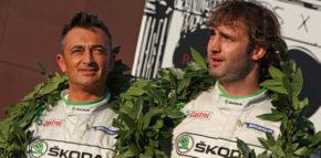 Umberto Scandola e Guido D'Amore brillano al Rally di Roma Capitale