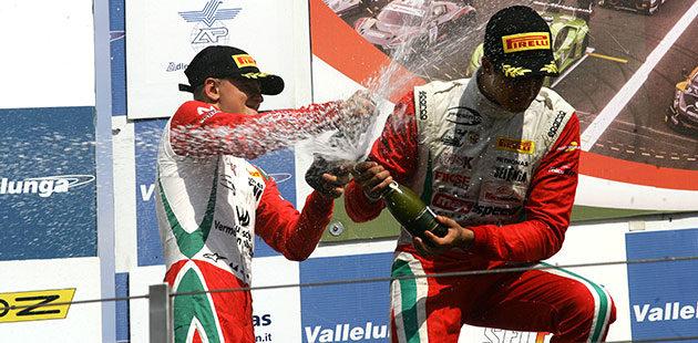 F4: a Vallelunga Schumacher e Correa alla ribalta