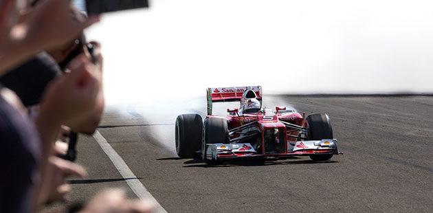 Ferrari Challenge grande spettacolo nel segno di Vettel