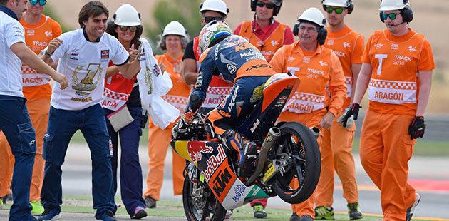 Aragon incorona Binder campione Moto 3