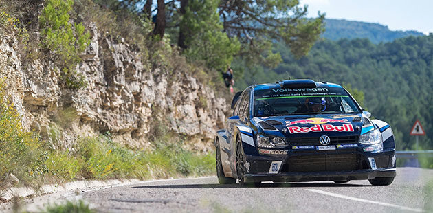 Rally di Catalunya: Ogier e VW si confermano leader