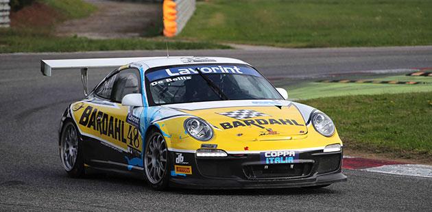 Riccardo De Bellis si aggiudica il Titolo in Coppa Italia GT  (Actualfoto)
