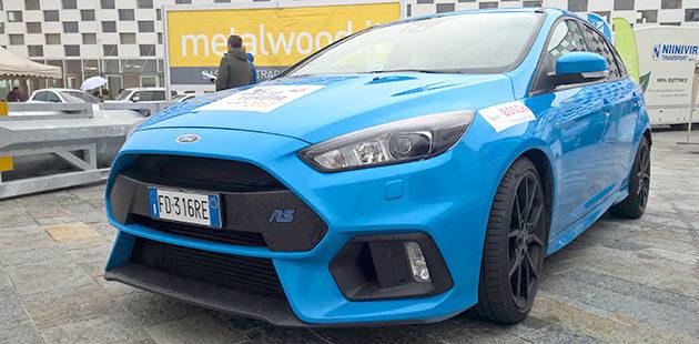 Auto Europa Sportiva dell'anno è Ford Focus RS