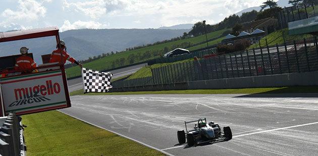 F2 Italian Trophy: titolo meritato ad Andrea Fontana