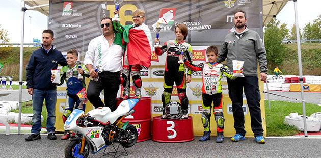 Premiazioni della Junior A (Foto Giuseppe Ferri)