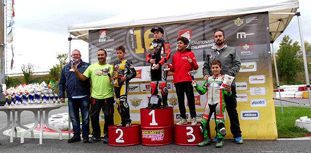 Premiazioni della Junior B (Foto Giuseppe Ferri)