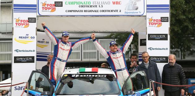 Marco Signor e Patrik Bernardi si aggiudicano Rally di Como e Campionato Italiano Wrc