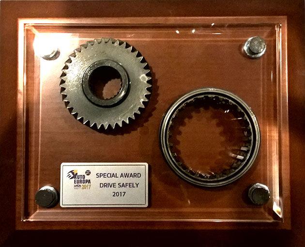 """Volvo va lo """"Special Award Drive Safety"""" per la sicurezza."""