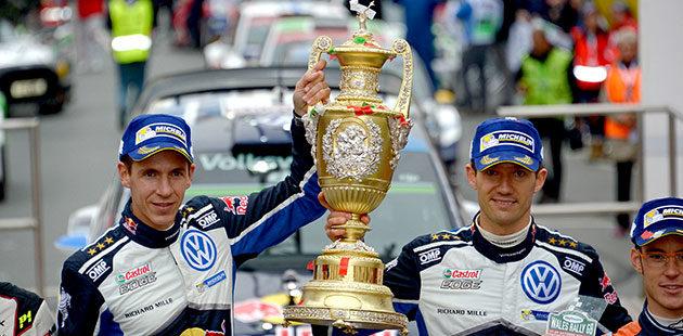 Rally del Galles: irrefrenabili Ogier e Volkswagen
