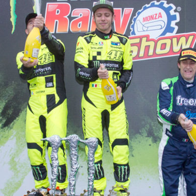 Monza Rally Show: Rossi suona la quinta