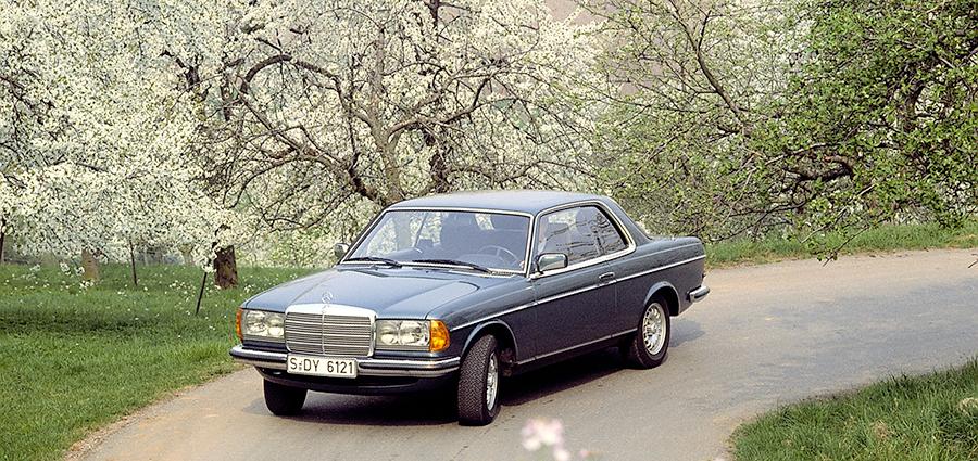 Le Mercedes Coupé sono creazioni originali con la carrozzeria più bassa e più corta.