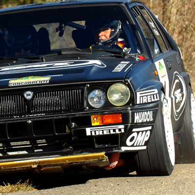 Historic Rally Vallate Aretine: Lucky and Pons a piene mani