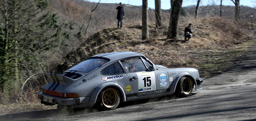 Completano la top ten assoluta Roberto Rimoldi ed Alberto Galli con la Porsche 911 SC