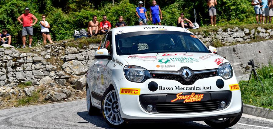 Emanuele Rosso e Maurizio Torlasco proveranno a dare l'attacco al titolo della Twingo R1
