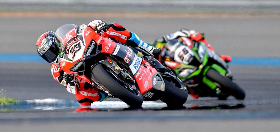 Escursione Thailandese tutto sommato positiva per Marco Melandri con la Ducati Panigale R