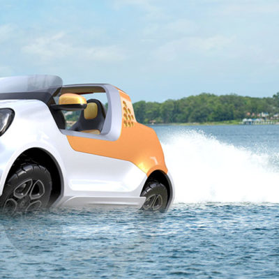 Smart Forsea, la concept car che guarda verso il mare