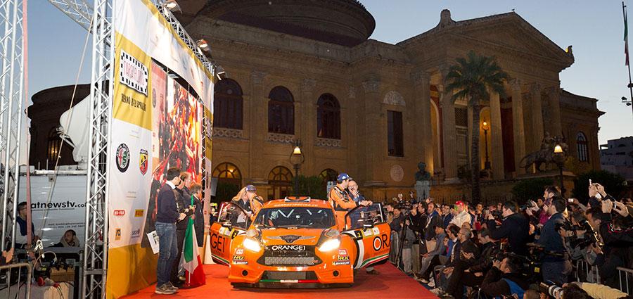 Un buon passo anche per Simone Campedelli e Pietro Ometto con la Ford Fiesta R5 della Orange One
