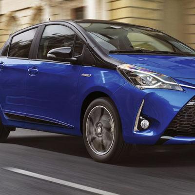 Toyota Yaris, ecco la versione 2017