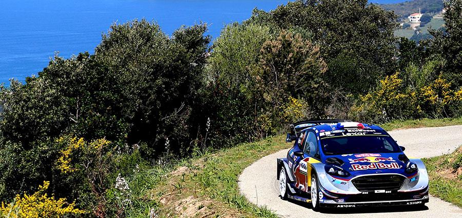 Piazza d'onore per la Ford Fiesta Wrc di Sebastien Ogier e Julien Ingrassia