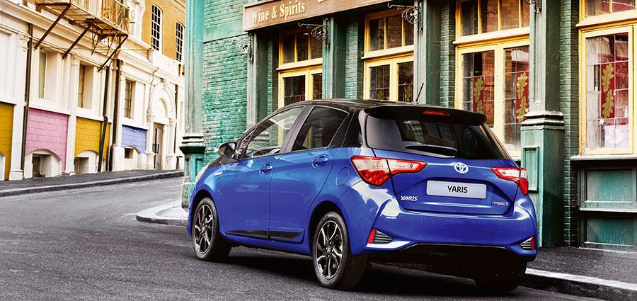 Nuovi colori interni ed esterni che aumentano il grado qualitativo della Toyota Yaris