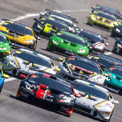 Lamborghini Supertrofeo, grande inizio a Monza