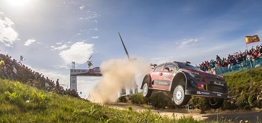 Craig Breen con la Citroen C3 Wrc risulta essere il migliore pilota per la casa francese in questa tappa del WRC