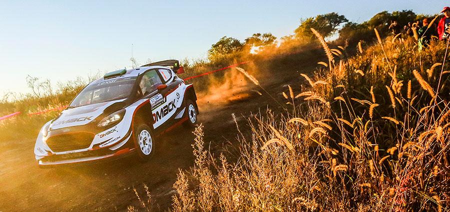 Piazza d'onore per la Ford Fiesta WRC di Elfyn Evans e Daniel Barritt