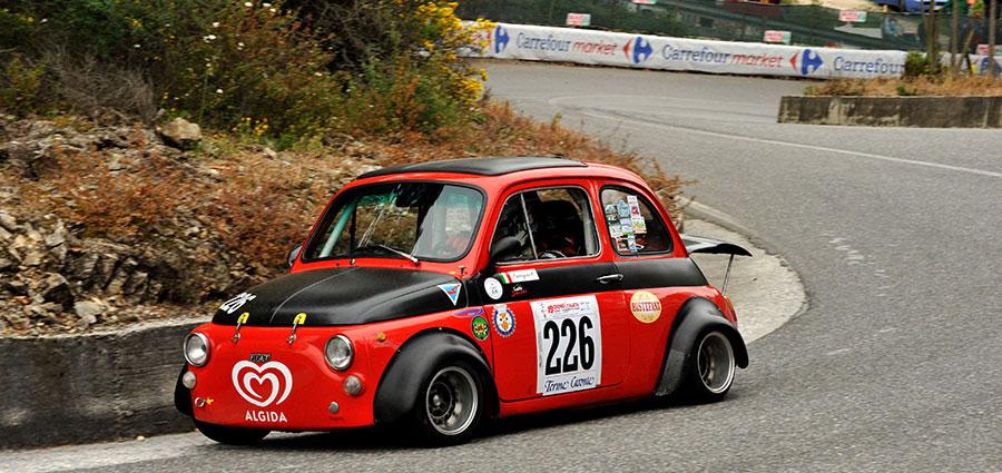 Successo tra le Bicilindriche per Antonio Ferragina con la Fiat 500