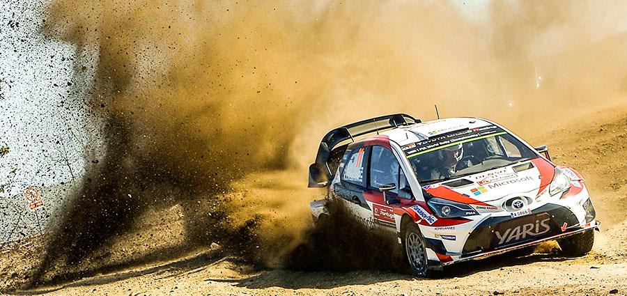 La migliore Toyota Yaris Wrc è quella di Juho Hanninen e Kaj Lindstrom che finisce settima