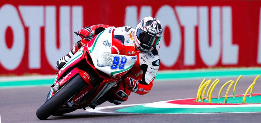 PJ Jacobsen porta la MV Agusta sul terzo gradino del podio