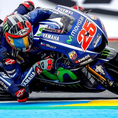 Moto GP, in Francia disfatta Rossi vola Vinales