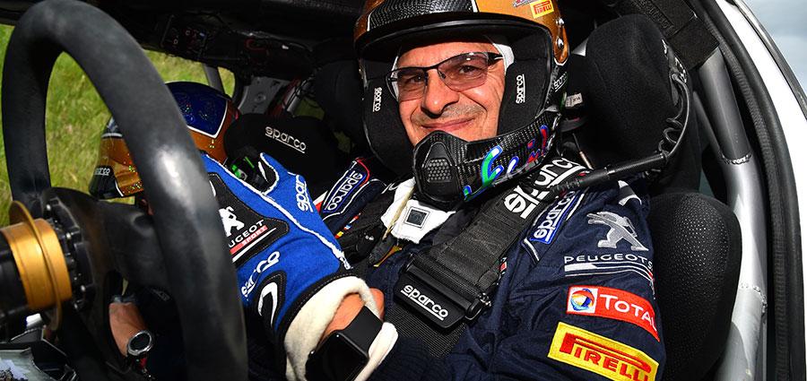 Alla fine non è stato un weekend da buttar via per la Peugeot 208 T16 R5 ufficiale di Paolo Andreucci
