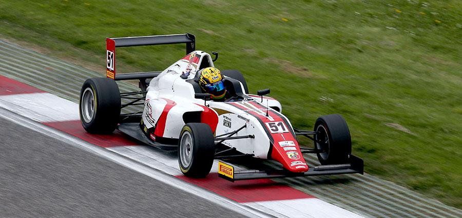 Aldo Festante rimane d'un soffio ai piedi del podio in gara 2