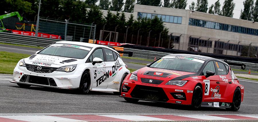 Jonathan Giacon e Nicola Baldan completano il podio di gara 1