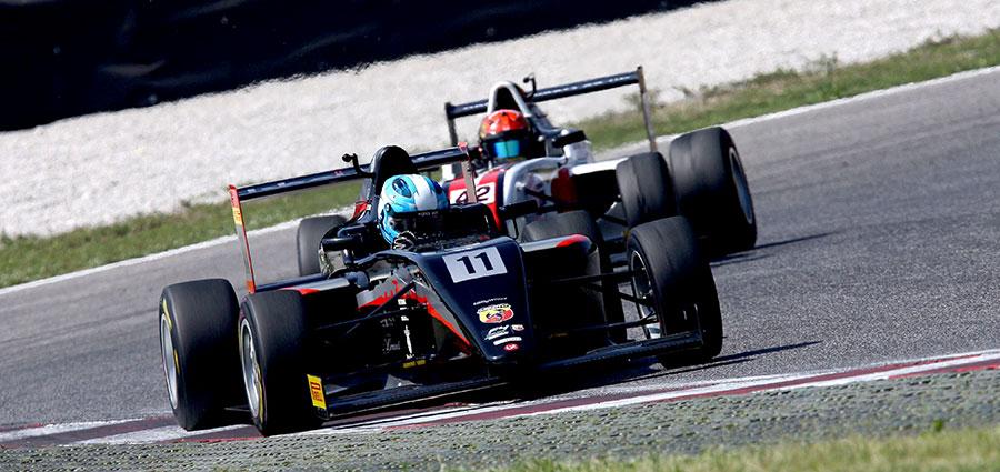 Leonardo Lorandi batte Job Van Uitert in gara 2 e si aggiudica il primo gradino del podio