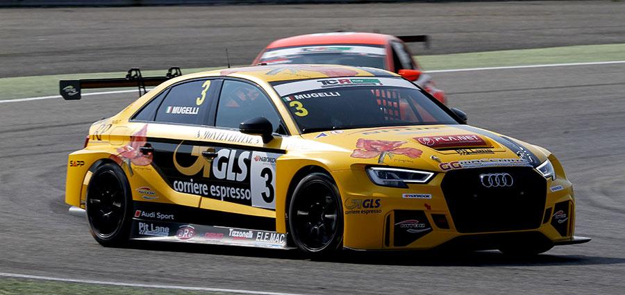 Nella top five di gara 1 anche l'Audi RS3 di Massimiliano Mugelli