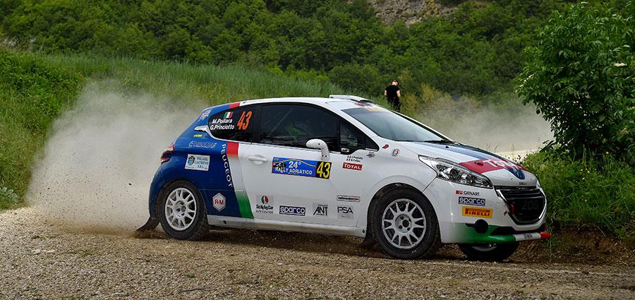 Doppietta di Marco Pollara con la Peugeot 208 Vti tra le vetture a Due Ruote Motrici