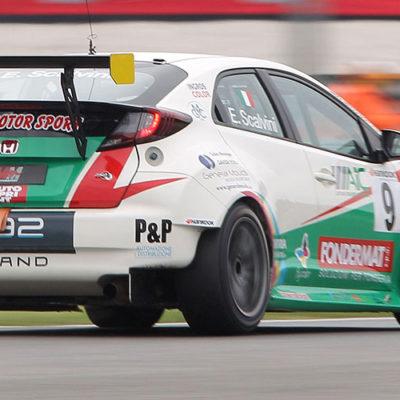 TCR Italy, Eric Scalvini ed Honda senza pietà ad Adria