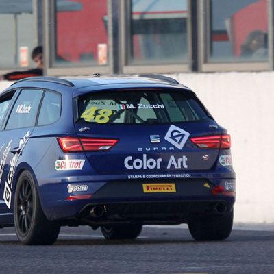 TCS, girandola di emozioni all'Adria Raceway