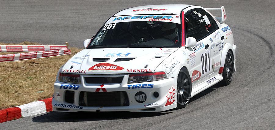 In Gruppo A vittoria per la Mitsubishi Lancer di Rudi Bicciato