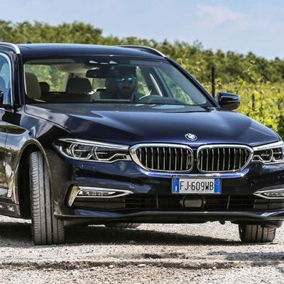 BMW Serie 5 Touring, sfoderata la nuova idea di versatilità