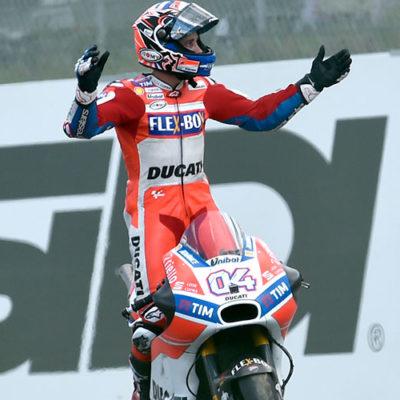 Moto GP, Dovizioso e Ducati trionfano al Mugello