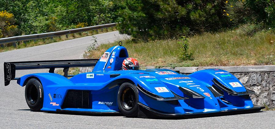 Quarto posto assoluto per Michele Fattorini con la Osella FA 30