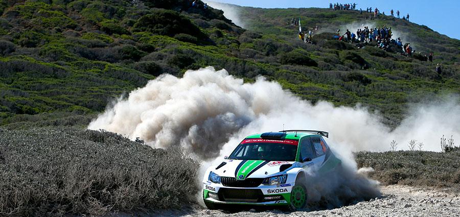 Sempre protagonista la Skoda Fabia R5 con Jan Kopecky ed Ole Veiby ad occupare il secondo gradino del podio delle WRC2